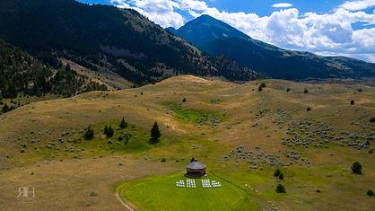 chico hot springs resort, pray montana, ceremony, mountains
