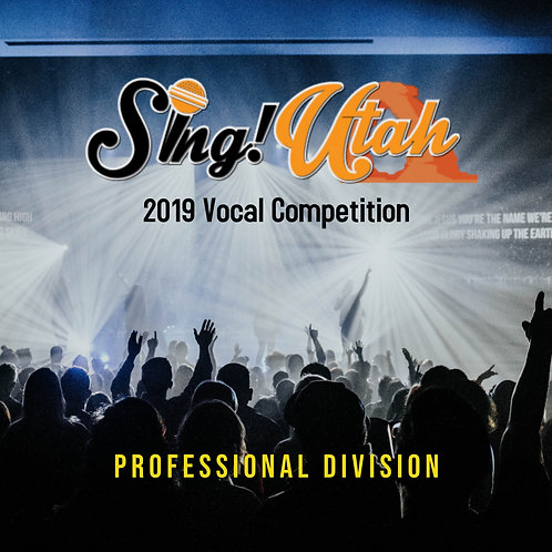 2019 Vocal Competition Video - Professional Division