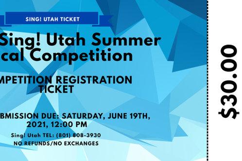 2021 Summer Competition Registration Ticket
