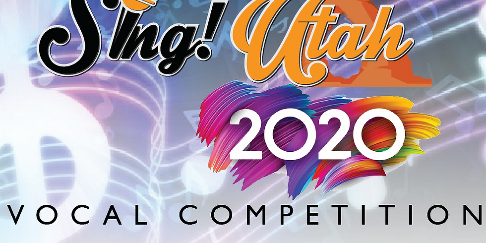 Professional Division (ages 15 & up) - Sing! 2020 Utah Vocal Competition
