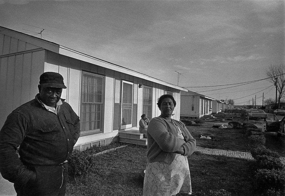 LOUISIANA_ Self-help houses, pre-cut by