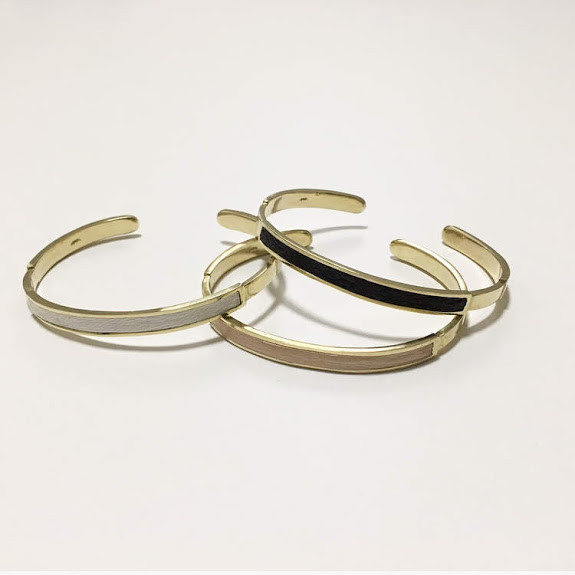 BRASS NARROW BANGLE