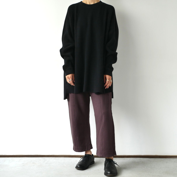 BIG WAFFLE WIDE PULL OVER