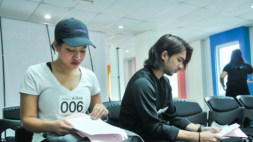 Audition Day 01 - 2