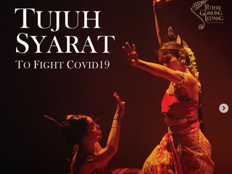#Showbiz: Puteri Gunung Ledang gives '7 conditions' to fight Covid-19