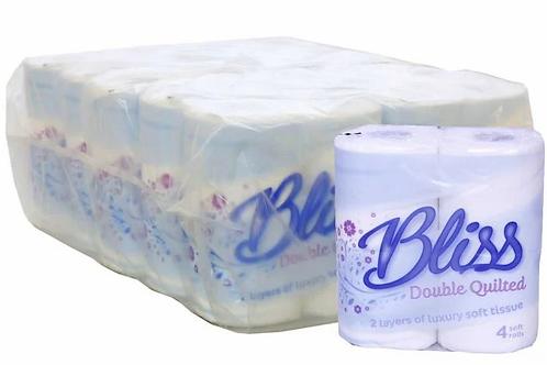 40Toilet rolls - White Bliss - Luxury