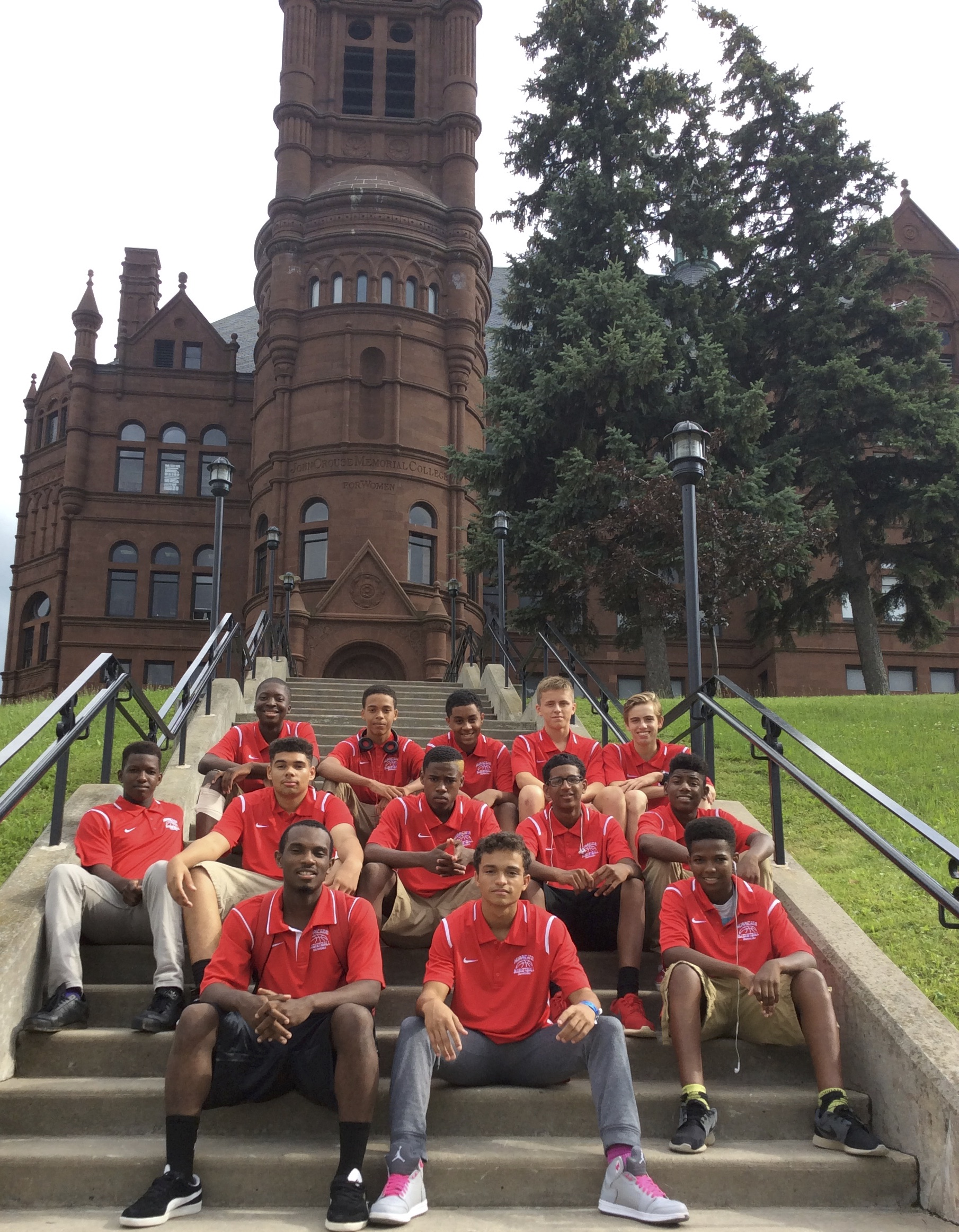 Team Hurricane on Syracuse University campus.