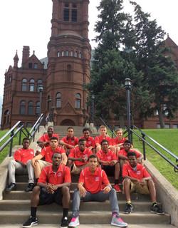 Team Hurricane on Syracuse University campus.