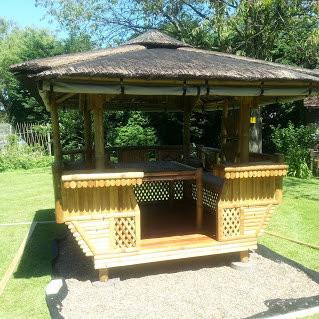 Tropical Garden building