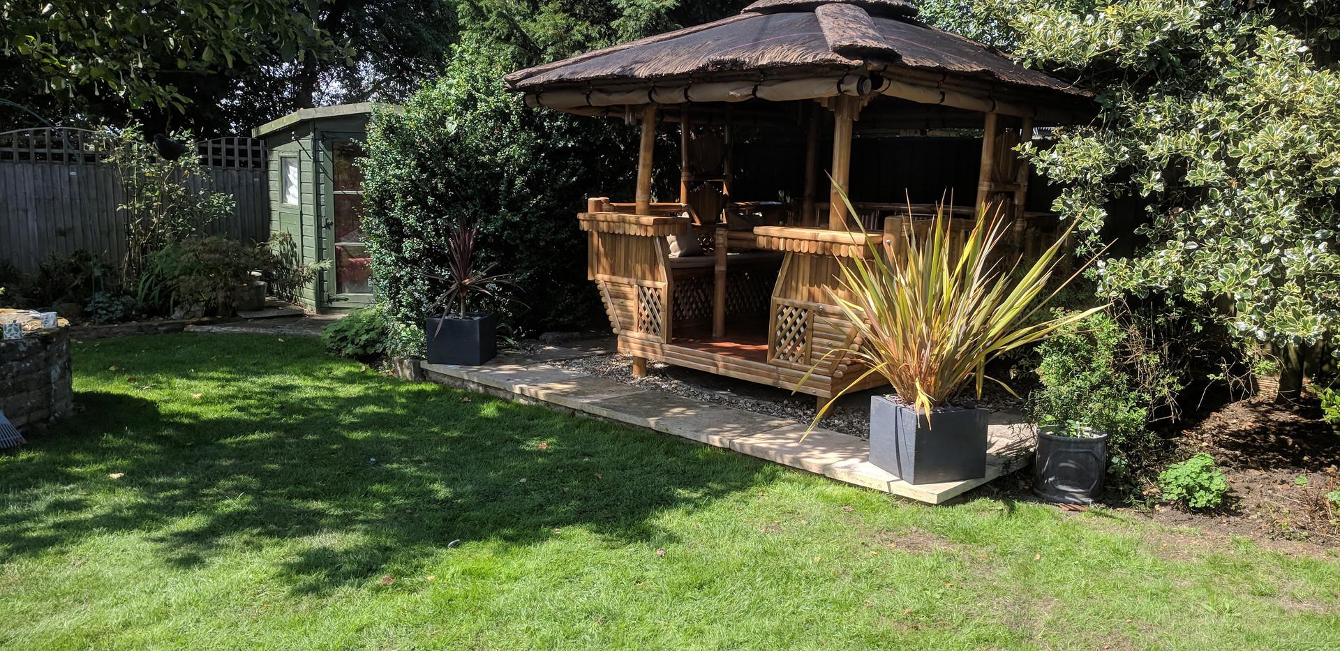 Bamboo Gazebo or tiki hut