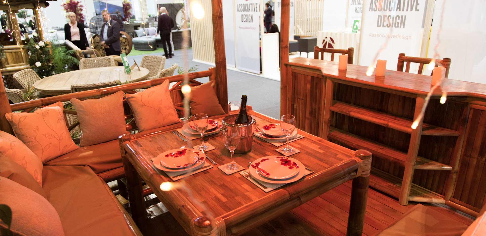 Large heated dinning space