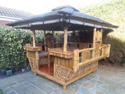 Garden Building with a tropical feel