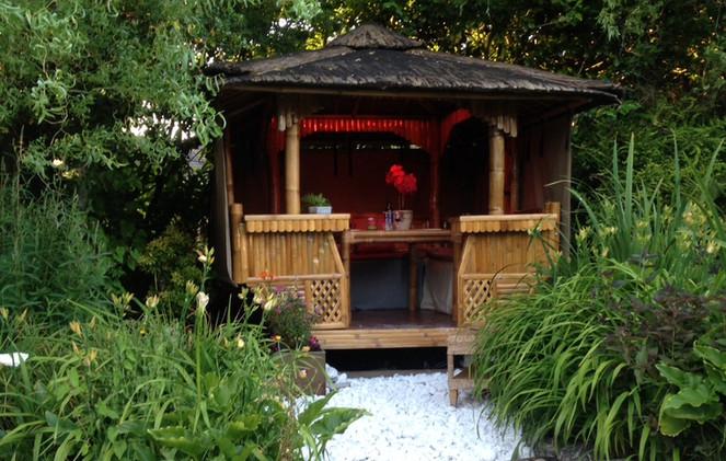 Luxury Bamboo Gazebo