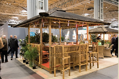 Bar Gazebo Front side at a show