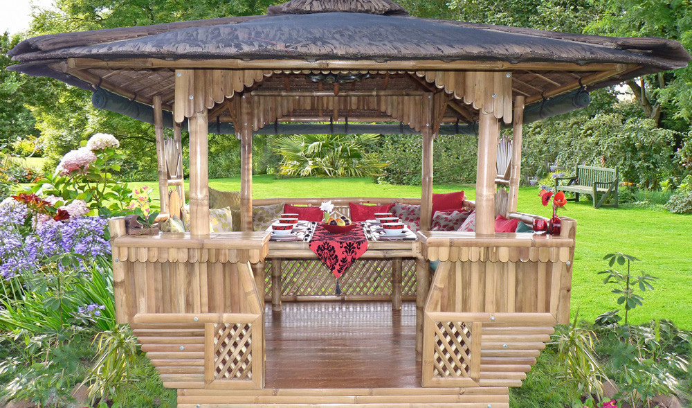 Luxury Bamboo Gazebo