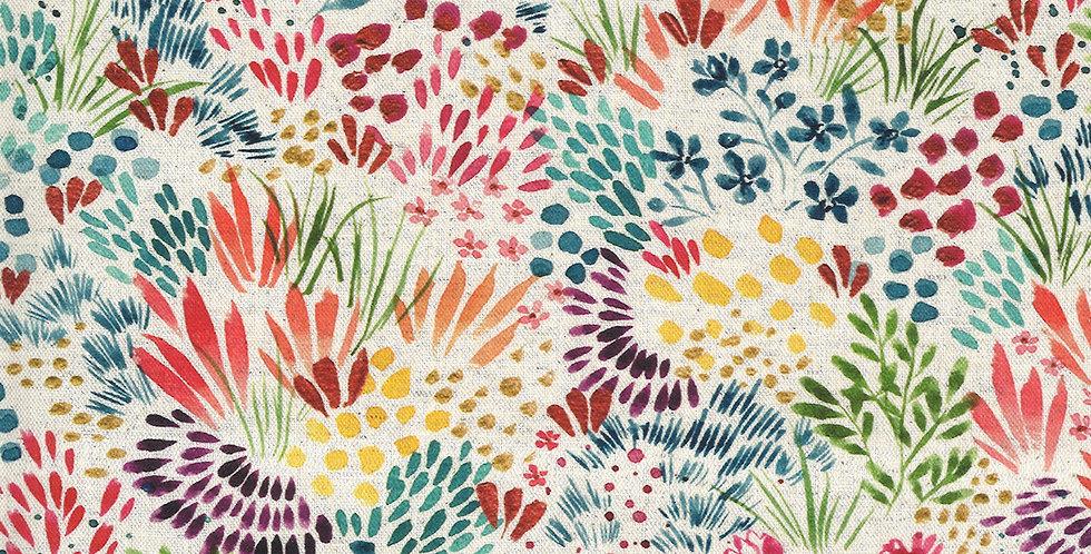 Moda Moody Bloom - 8444 11D White by Create Joy Project