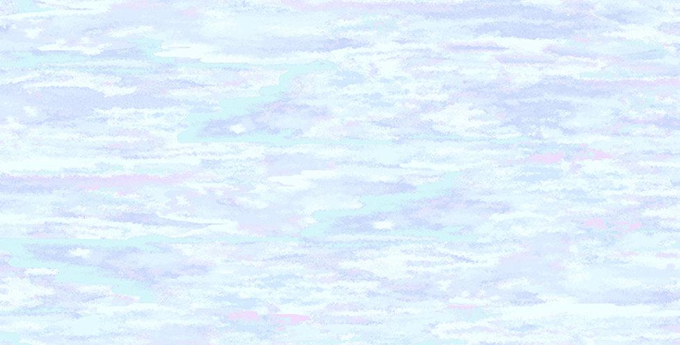 Clothworks Ski Town Y2997-84 Periwinkle by Karen Gillis Taylor