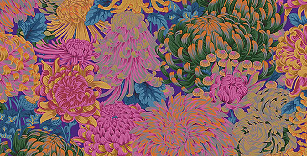 Kaffe Fassett Collective - PWPJ107 Hokusai's Mums - Hot