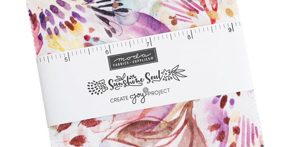 Moda - Charm Pack - Sunshine Soul by Create Joy Project