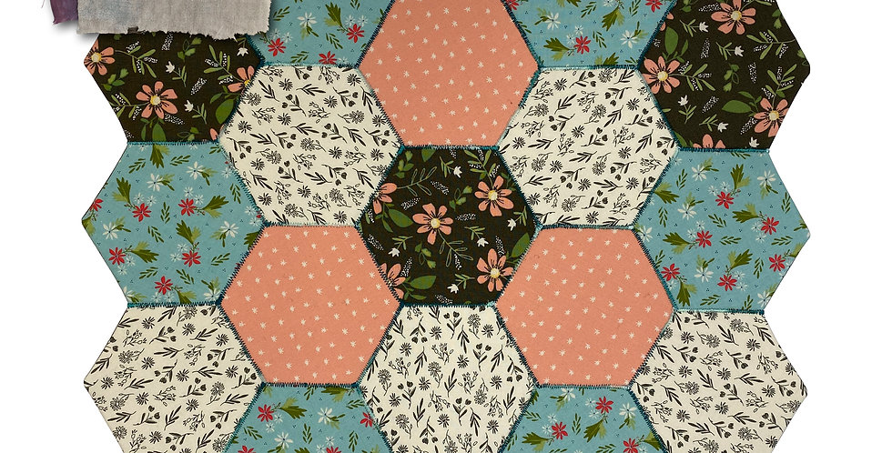 KIS Kutz Project Box 1 - Hexagon Table Mat
