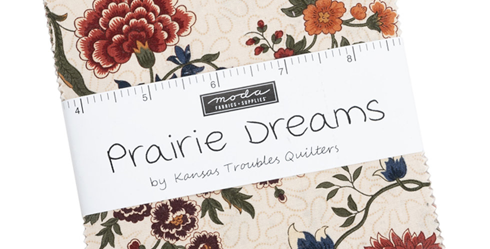 Moda - Charm Pack - Prairie Dreams by Kansas Troubles Quilters