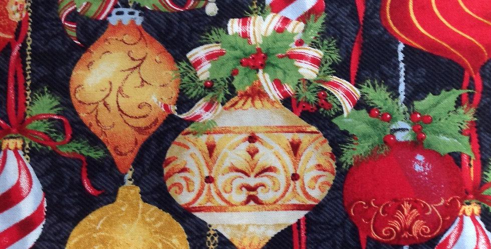 Henry Glass & Co Christmas Legend 9520-99 Black - Allover Ornaments