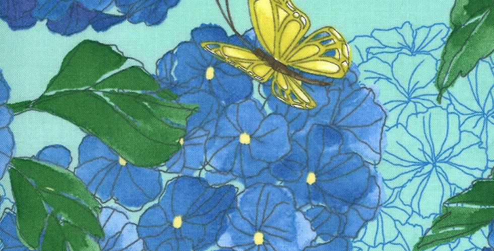 Moda Cottage Bleu 48690 13 by Robin Pickens