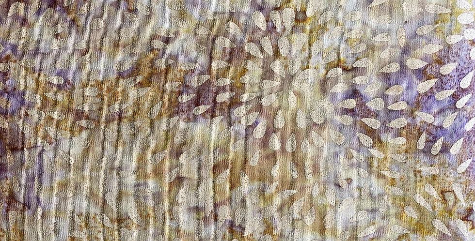 Kingfisher Fabrics Metallic Stamped Batiks - SSA20-1-3