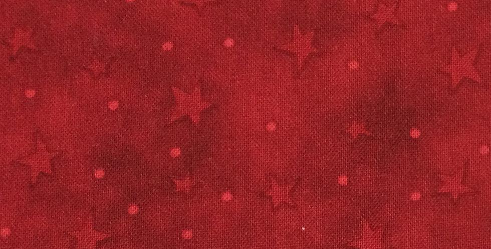 Henry Glass & Co - Starry Basics HG8294 88 - Red