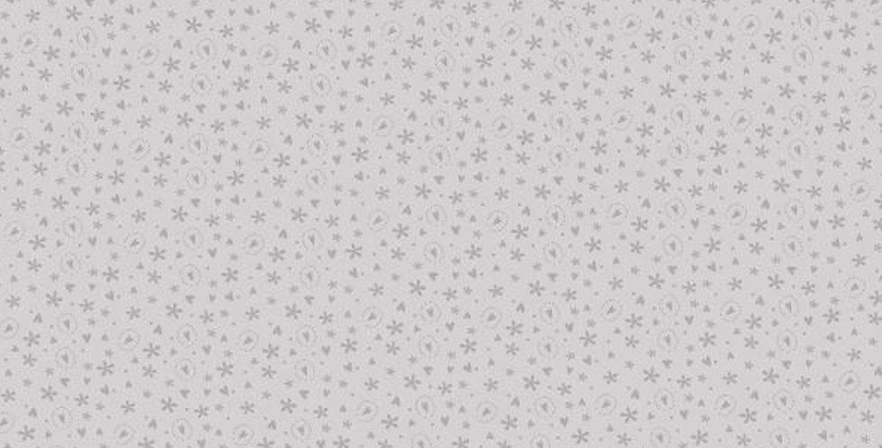 Lynette Anderson Bedrock Basics - 80430-5 Hearts Grey