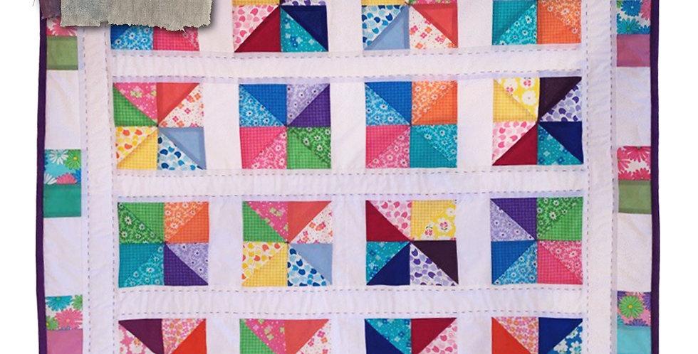 KIS Kutz Project Box 3 - Pinwheel Quilt