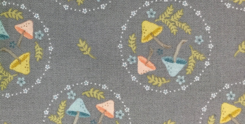 Poppie Cotton Woodland Songbirds - 70140-112 by Sheri McCulley