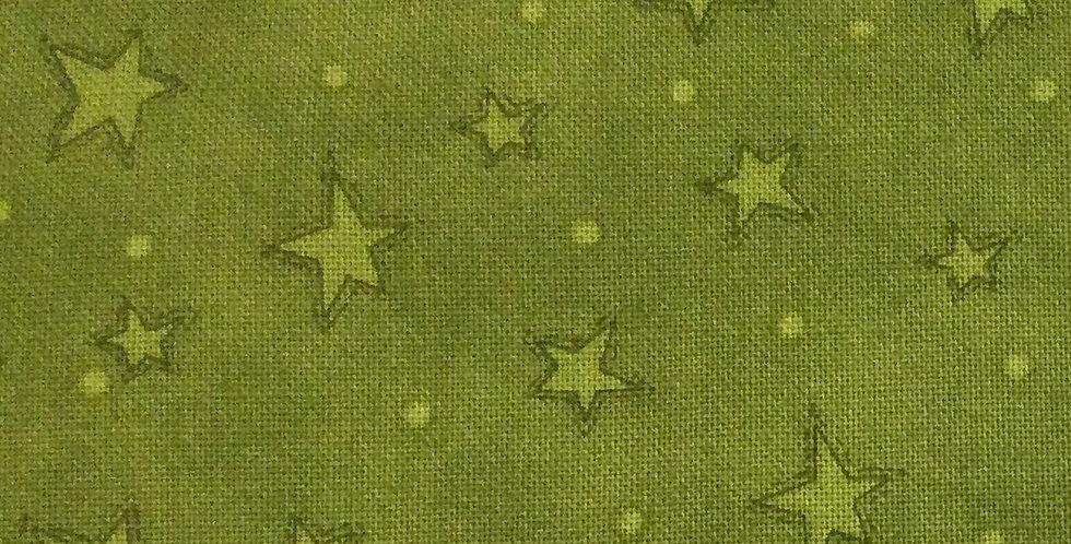 Henry Glass & Co - Starry Basics HG8294 66 - Green