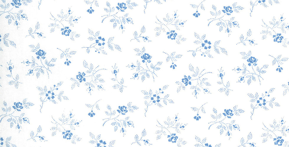 Moda Crystal Lane 2984 17 Winter White by Bunny Hill Designs