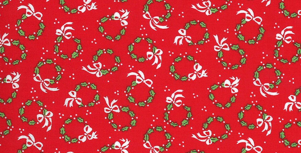 Moda Merry and Bright 22403 11 Poinsettia Red by Me & My Sister