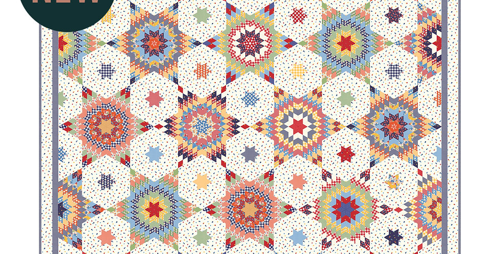 Moda Good Time - Under the Stars Quilt Kit K21770 by American Jane