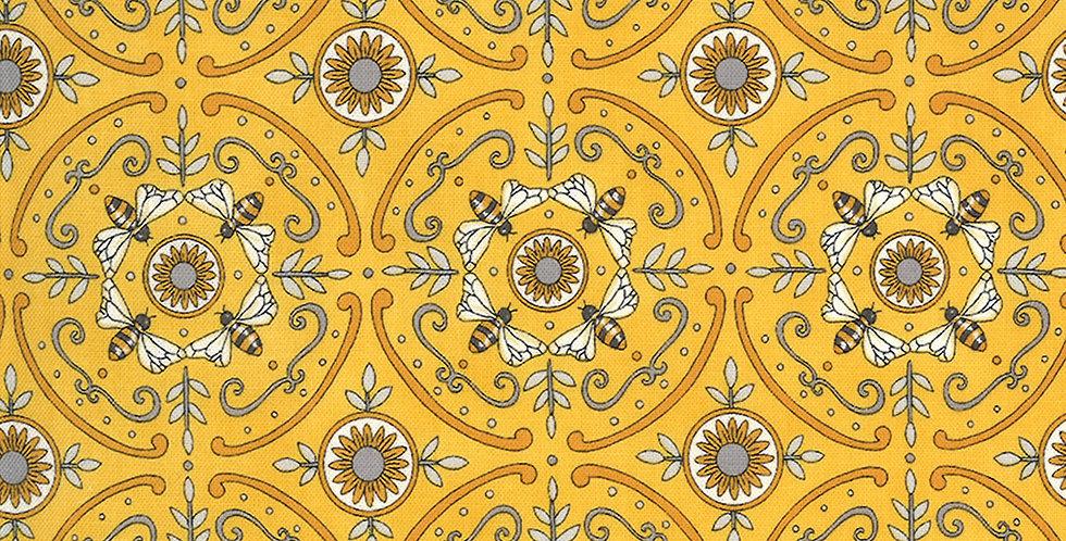 Moda Bee Grateful 19968 13 Honey Yellow by Deb Strain