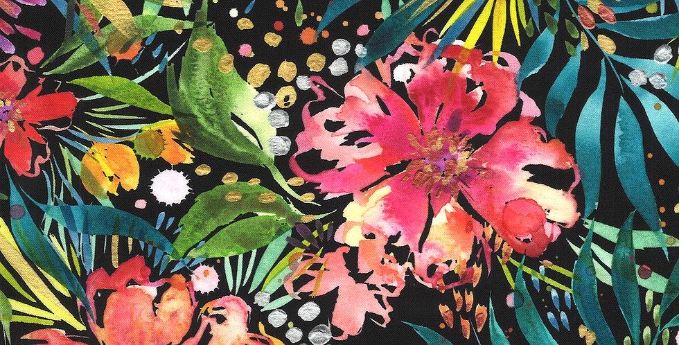 Moda Moody Bloom - 8441 12D Black by Create Joy Project