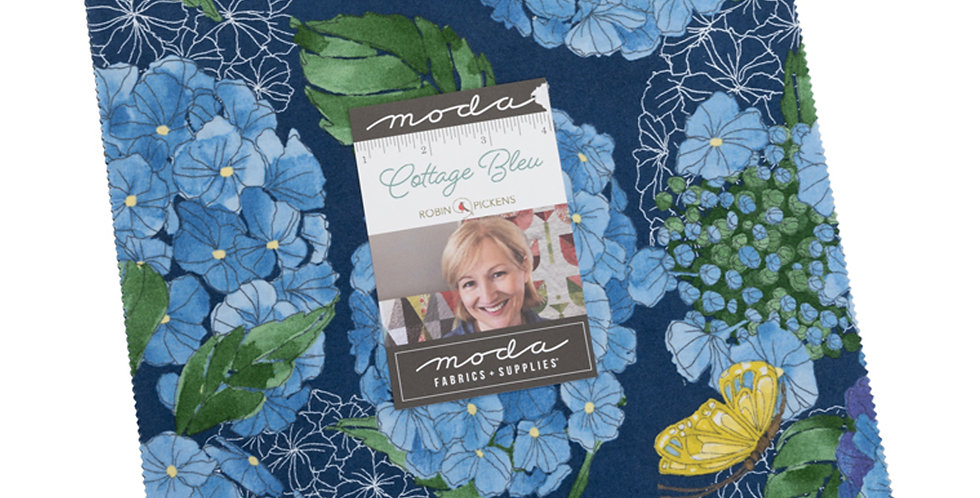 Moda - Layer Cake - Cottage Bleu by Robin Pickens