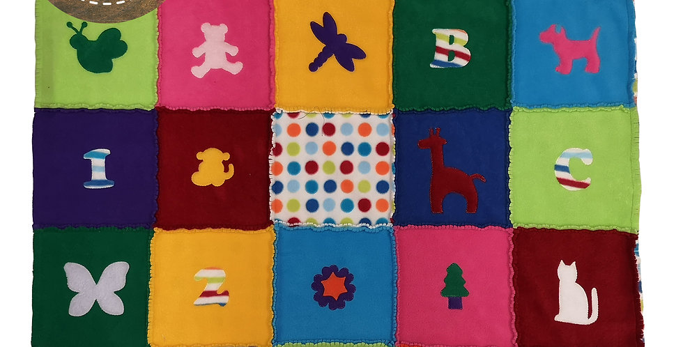 KIS Quilting Raggy Blanket Kit
