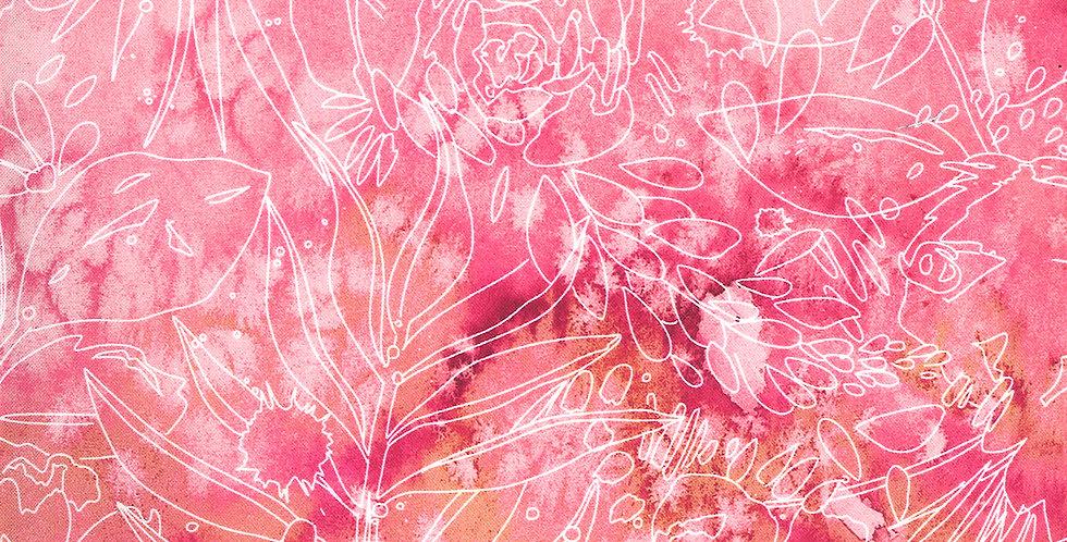 Moda Moody Bloom - 8447 13D Fuchsia by Create Joy Project