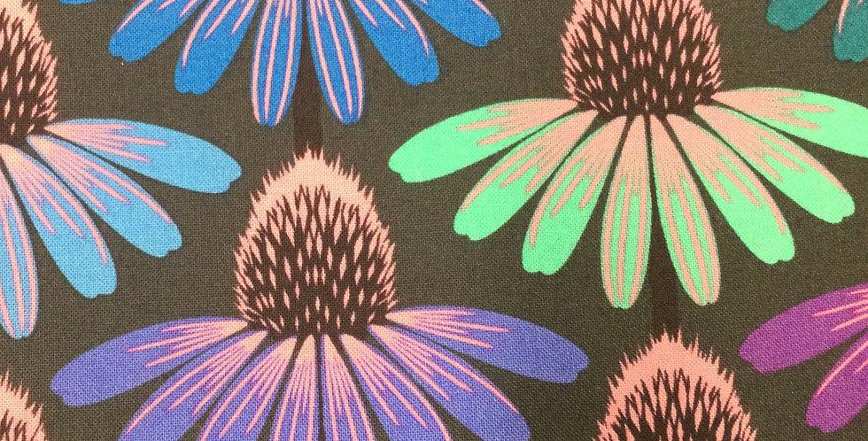 Kaffe Fassett for Free Spirit - Love Always PWAH149 Echinacea Glow - Amethyst