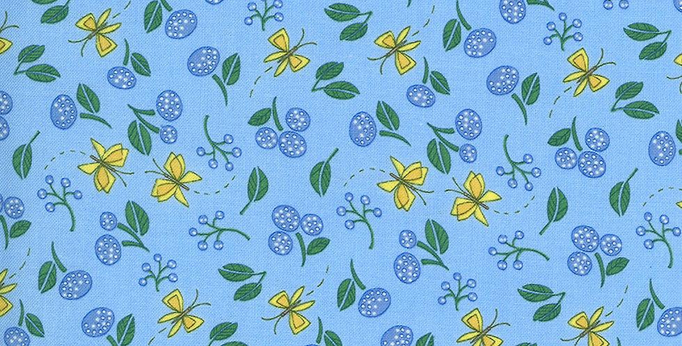 Moda Cottage Bleu 48693 16 by Robin Pickens
