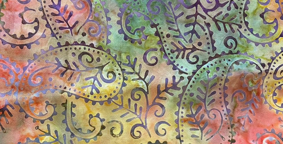 Kingfisher Fabrics Stamped Batiks - SSA20-7-2