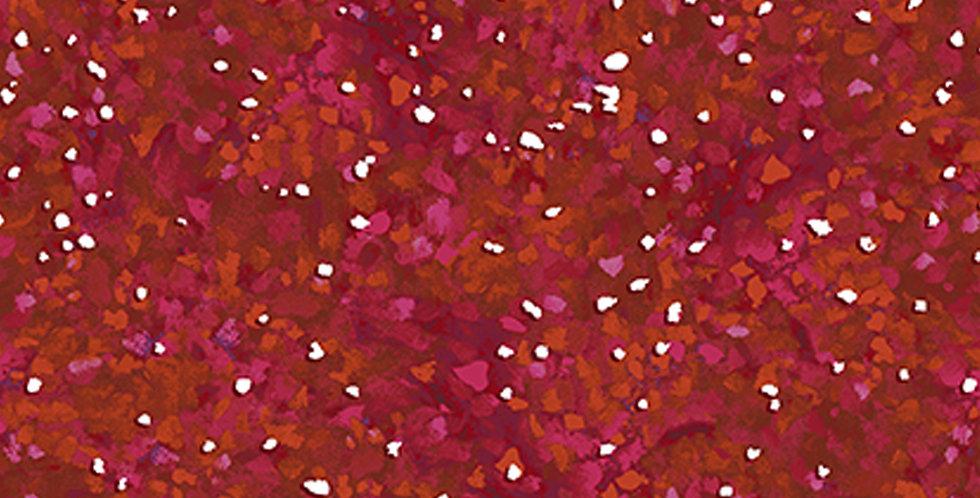 Clothworks Ski Town Y2998-83 Dark Red by Karen Gillis Taylor