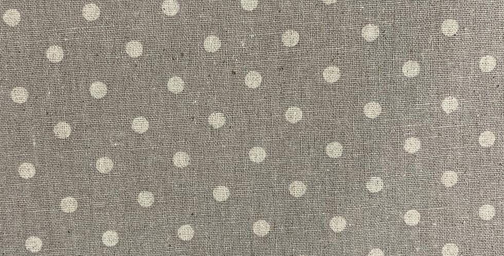Moda Linen - Beige with White Spot