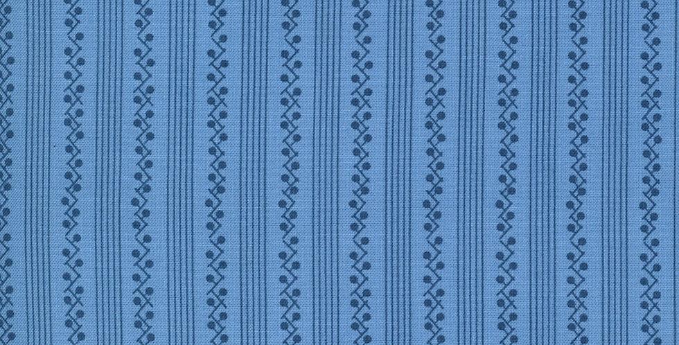 Moda Crystal Lane 2985 15 French Blue by Bunny Hill Designs