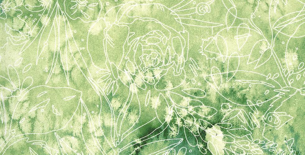 Moda Moody Bloom - 8447 14D Jungle by Create Joy Project