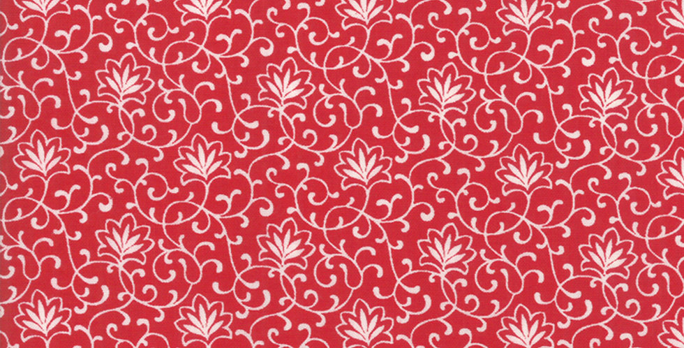 Moda My Redwork Garden MRG 2955 11 by Bunny Hill Designs