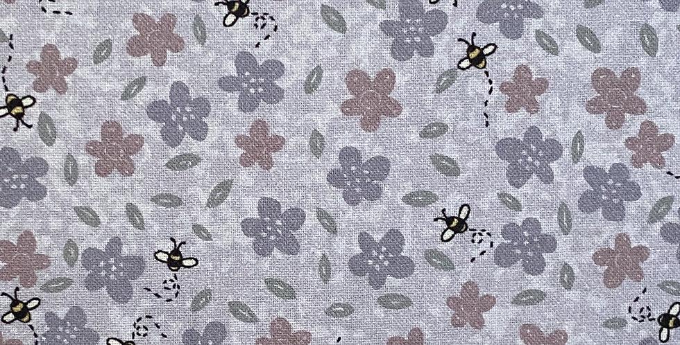 Lynette Anderson Sunshine After The Rain - 80530-12 Flowers & Bees - Violet Haze